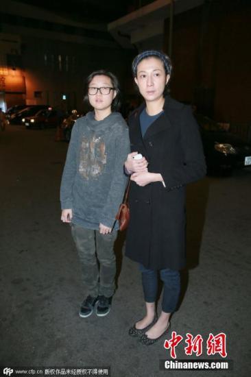 吴绮莉及女儿吴卓林。图片来源:CFP视觉中国(资料图)