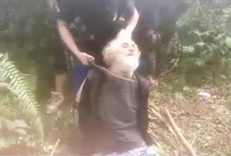 反恐网站SITE Intelligence Group於27日张贴一段1分 34秒的影片,显示德国籍人质坎特纳(Jurgen Kantner )惨遭斩首遇害的过程。